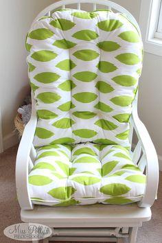 custom chair cushions glider cushions rocking chair cushions glider ...