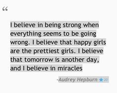 -My favorite Audrey Hepburn Quotes