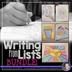 Escribiendo desde Listas: Bundle