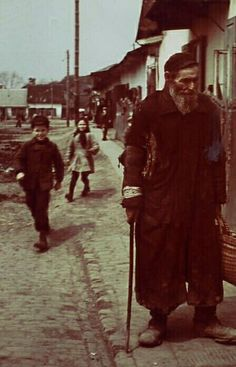 The Warsaw Ghetto. The picture is the courtesy of Yad Vashem.