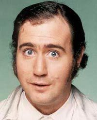 Mr. Eichenberg's Comedic Icon of the day #8 Andy Kaufman 12/01/2013