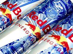 ilovedust for Red Bull Tin Man, Favorite Pastime, Black Books, Energy Drinks, Red Bull, Packaging Design, Street Art, Wings, Canning