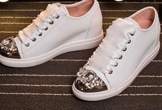 PJ.SDZM Star Style Crystal Shoes Women Lazy Pedal Thick Bottom Shoes Loafer Shoes Genuine Leather Rhinestone Flat Platform Shoes