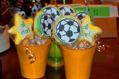 "How about a fun team party? Here are a few ideas for a ""sports team"" party!"