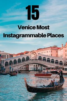 Wondering what to do in Venice Italy? Heres a list of Venices best attractions for travelers and visitors. This is a guide of what to do in Venice and lists Venices most Instagrammable locations for beautiful photos. Check it out!