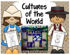 Cultures of the World Lessons  Host a fun culture fair in your classroom.  Learning Lessons With Mrs.Labrasciano