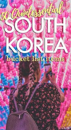 50 Quintessential Korean Bucket List Items After living in Korea for five years, we're sharing our favorite quintessential Korean bucket list items! Here's our list of things to see while in Korea. Seoul Korea Travel, South Korea Seoul, Asia Travel, South Korea Culture, South Korea Fashion, Wanderlust Travel, Travel Guides, Travel Tips, Travel Destinations