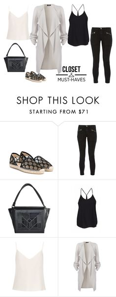 """""""bASIC % eSSENTIALS"""" by anja264 ❤ liked on Polyvore featuring Jimmy Choo, J Brand, Alise Aleksandra and Raey J Brand, Jimmy Choo, Must Haves, Essentials, Shoe Bag, Polyvore, Collection, Shopping, Design"""