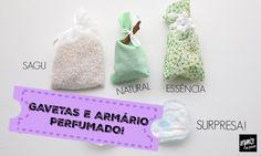 5 Ideias para deixar o Armário e as Gavetas Perfumadas!