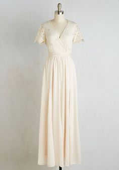 Everything's Going Your Sway Dress in Ivory (Modcloth)