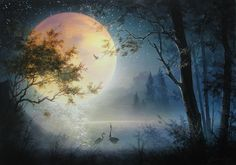 I do not own or claim any photo's music just sharing beautiful artwork and great music. Beautiful Gif, Beautiful Artwork, Watercolor Landscape, Landscape Paintings, Landscapes, Amazing Gifs, Background Images Wallpapers, Surrealism Painting, Paint And Sip