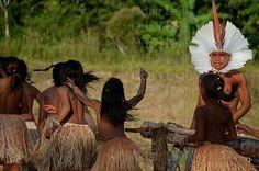 Festival do Mariri na aldeia Mutum