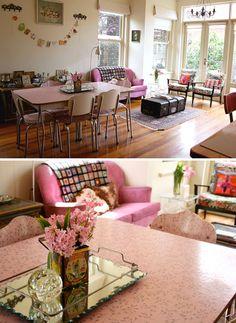 Home & Garden: Une maison vintage à Melbourne
