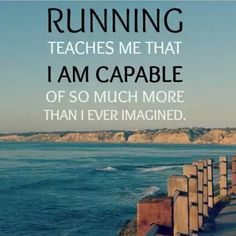 Running has made me a better person