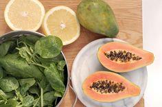 Smoothie-papaya-spinach 1