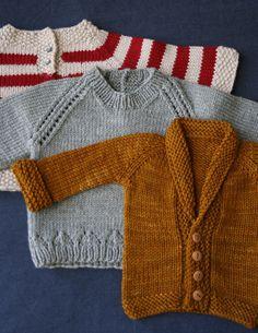 """knit2together: """" little sweaters (by Derek & Lauren) """""""