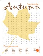Thanksgiving ELA Printables and Craft | Fall word search, Fall words and  Free fun