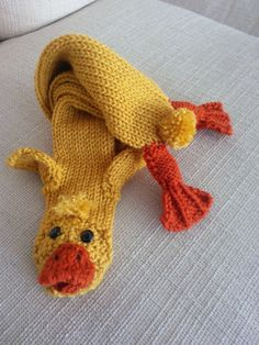 Baby Chick Scarf by Jackthemanabouttown on Etsy