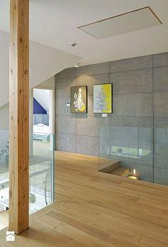 STYLOWY 2 - realizacja projektu - Hol / przedpokój, styl skandynawski - zdjęcie od DOMY Z WIZJĄ - nowoczesne projekty domów