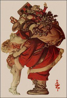Joseph Christian (J.C.) Leyendecker Illustration