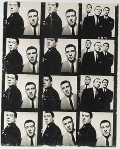 Mobster David Bailey The Kray Brothers, 1965