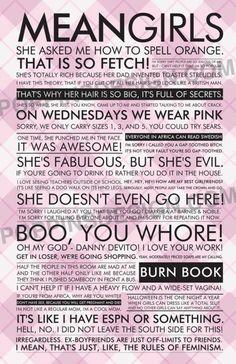 Mean Girls :)