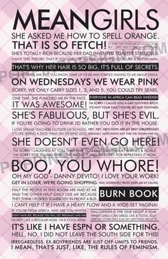 Mean Girls :)