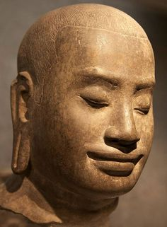 Scholars suggest King Jayavarman VII bears a strong resemblance to the face towers of the Bayon.