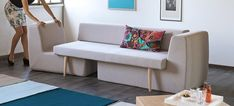 Elegant 3-i-1 modul sofa