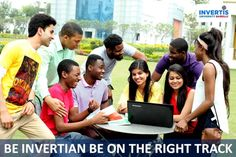 BE Inverian Be on the Right Track.. #JoinInvertis #AdmissionOpen