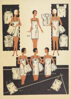 Tissus C.I.M.S.: soieries, lingerie, blouses, robes en tissus C.I.M.S, 1931. Trade catalogs. The Metropolitan Museum of Art, New York. Thomas J. Watson Library (b18210211)