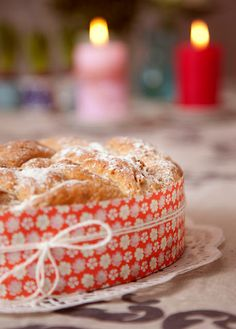 bread with apples and muesli (recipe in Finnish)