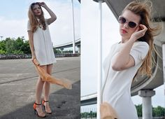 LITTLE WHITE DRESS (by Sally D) http://lookbook.nu/look/3746167-LITTLE-WHITE-DRESS