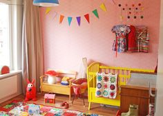 Kids room - Vintage bench - ninainvorm