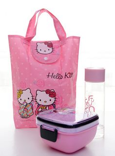 Hot Pink Sanrio Hello Kitty Shopping Tote Bag Lunch Bag Hand Bag Gift  Foldable   eBay 3a13d294f2