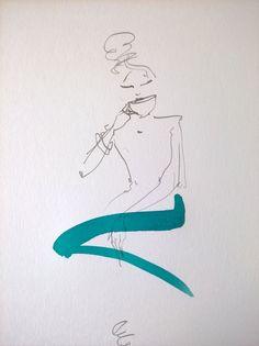 Dessin issu d'une commande faite à Claire-Chine Lapègue, artiste dont la sensibilité nous touche profondément.