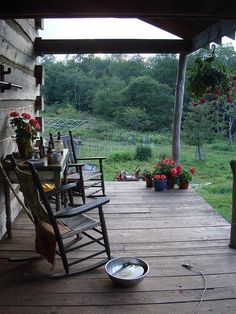 Imagine mornings out here alone with your coffee - watching the world wake up.