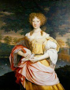 Mid 1670s - Mary Wilbraham by John Michael Wright