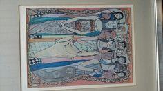 Art print 209/250 framed US $350