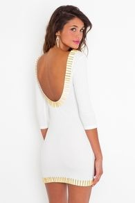 Gold Rush Dress. A little short for this Pollyanna, but other than that GORGEOUS!