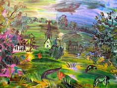raoul dufy's excellent style of painting