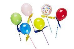 Happy Balloon Pop Kits via Oh Happy Day Shop Happy Balloons, Mini Balloons, Rainbow Balloons, Red Balloon, Confetti Balloons, Balloon Party, Poppies For Grace, Celebration Balloons, Bohemian Party