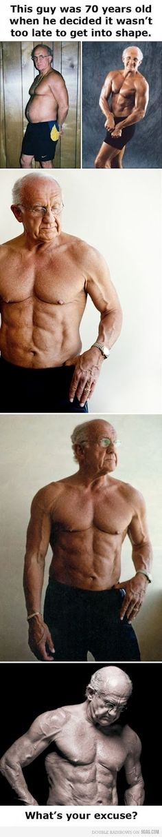 70 yr old in shape.