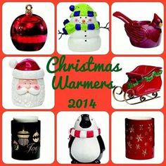 Scentsy Christmas Warmers. Available in October 2014. Https://porschasaddiction.scentsy.us