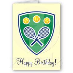 27 best tennis cards images on pinterest in 2018 tennis crafts elegant tennis birthday greeting card m4hsunfo