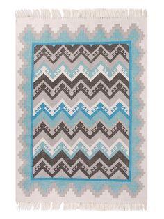 Tribal Pattern Desert Indoor/Outdoor Kilim Rug by Jaipur Living Rugs at Gilt