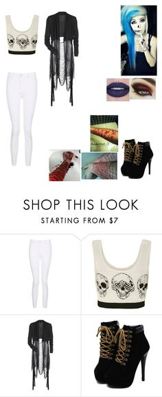 """Untitled #190"" by eternallyyours2413 on Polyvore featuring Topshop, WearAll and Rick Owens"