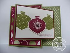 Stampin with Paula: Christmas in July (Almost) Joy Fold Card, Tri Fold Cards, Fancy Fold Cards, Pocket Cards, Folded Cards, Christmas Arts And Crafts, Christmas In July, Holiday Cards, Christmas Cards