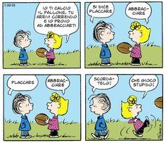 ed io provo ad abbracciarti Snoopy Comics, Peanuts Comics, Peanuts Quotes, Saint Valentine, Peanuts Snoopy, Calvin And Hobbes, Woodstock, Charlie Brown, Entertaining