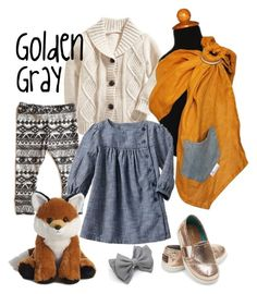 Golden Gray by myheartcreative on Polyvore featuring TOMS and Old Navy